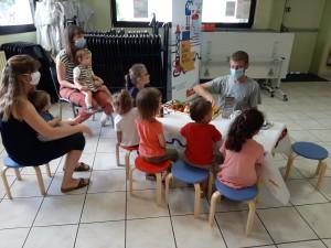 Ateliers pochoirs Quai des savoirs - 28 juillet