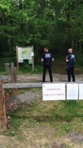 La police municipale - Arrêté fermeture parcs et jardin