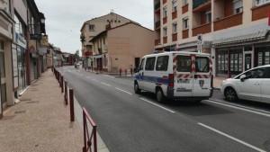 La police municipale dans le centre-ville